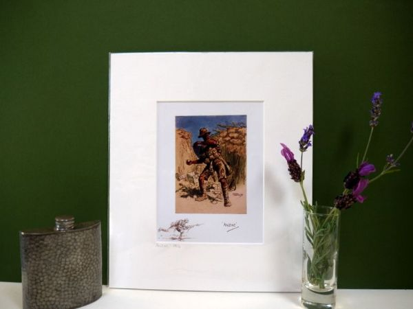 The Anzac 1916 - 1980's print by Snaffles